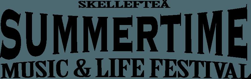 Skellefteå Summertime svart logo